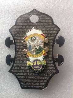 Hard Rock Cafe Pins - ORLANDO HOT 2014 CORE GUITAR HEADSTOCK SERIES PIN!