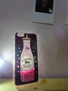 iphone 6/7+/8+ water unicorn case