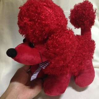 PET POODLE TOY (RED)