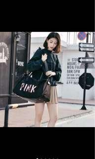 Korean 2-Ways Tote Bag& Travel Handbag