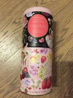 Crabtree & Evelyn 英式 cookie 茶包 曲奇餅乾 afternoon tea strawberry clotted cream