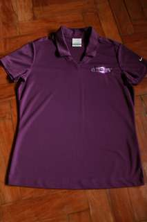 Purple Nike Golf Dry Fit Polo (authentic)