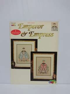 Cross Stitch Book - Emperor & Empress