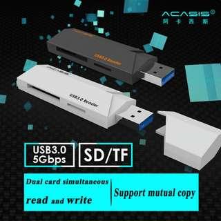{MPower} Acasis IS001 USB 3.0 SDXC, SDHC microSD TF Card Reader 讀卡機 - 原裝行貨