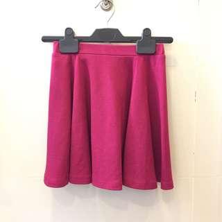 Pink Skater Skirt