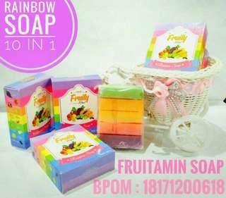 Fruitamin soap 10in1