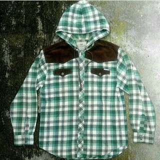 Flannel EJ great outdoor hoodie