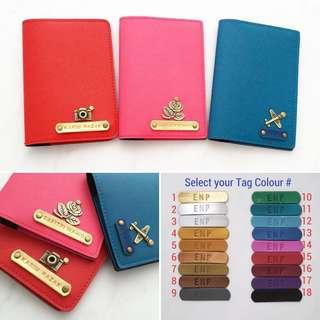 Personalised Passport Holder custom passport cover personalised gift travel accessories