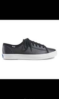 Keds kickstart leather black