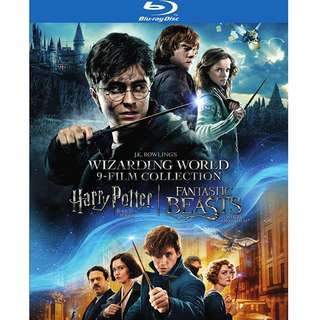🆕Harry Potter & Fantastic Beasts Blu-ray
