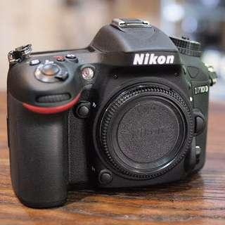kamera nikon D7100 body only