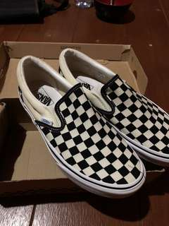 Vans checkerboard japan market.
