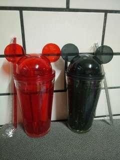 迪士尼米奇米妮造型杯 450ml