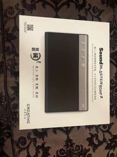 Brand New Creative Sound Blaster Roar 2 (sealed)