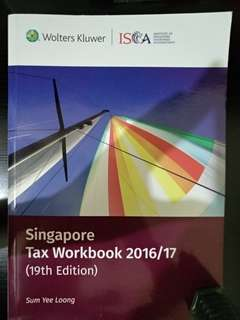 ISCA TAX WORKBOOK