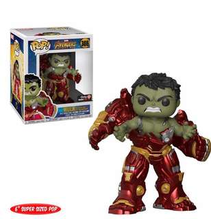 預訂 Hulk busting out of hulkbuster 復仇者聯盟 avengers iron man spider man thanos
