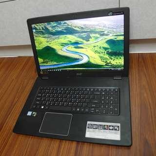 【出售】ACER E5-774G i5-6200U 17.3吋 筆記型電腦 公司貨 9成新 (雙硬碟)