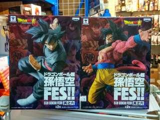 龍珠超 Dragon ball 孫悟空 FES!! 其之六 不拆售
