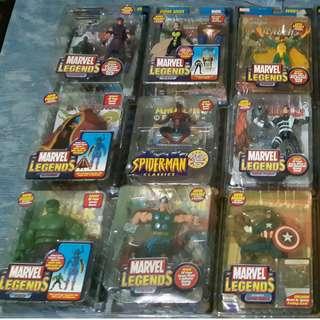 Marvel Legends Avengers Lot