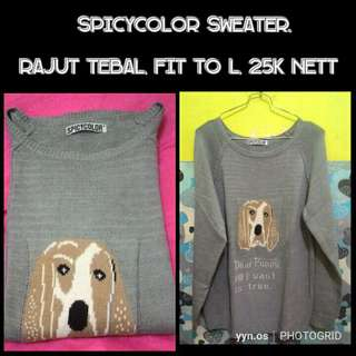 Spicycolor sweater
