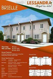 Townhouse ang 2 storey single detached