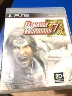 Ps3 - Dynasty Warriors 7