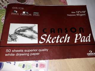 Canson Sketch Pad/ Architectural Samples/ School Supplies