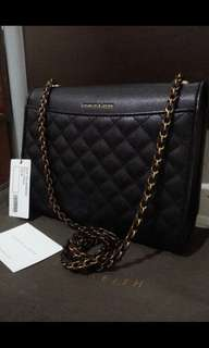 Authentic Charles & Keith 2 way bag