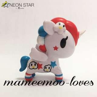 NEON STAR by Tokidoki Poppy Unicorno Series 3 Pop Star