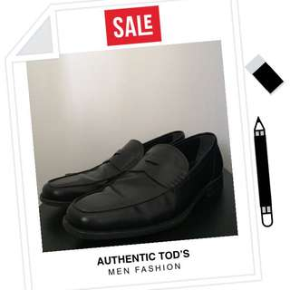 Tod's Glossy Leather Shoes Sz7
