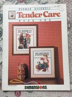 Tender Care Cross Stitch Book