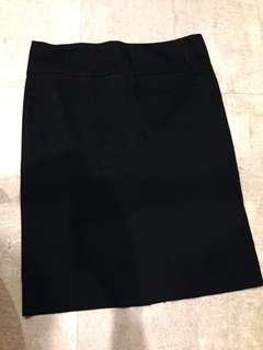 Size 10- Portmans black work skirt
