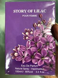 Story Of Lilac Perfume