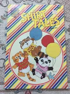 Shirt Tales Cross Stitch Book