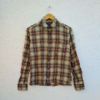 Authentic Shirt flannel uniqlo