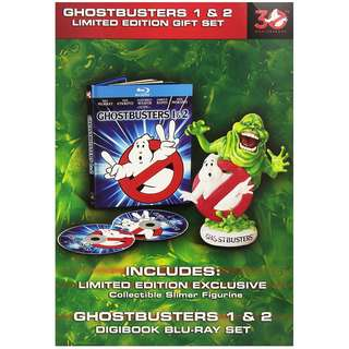 Ghostbusters / Ghostbusters II 30th Anniversary Limited Edition Gift Set Blu-ray