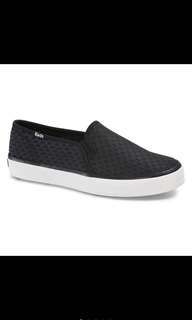 Keds double decker nylon stitch black