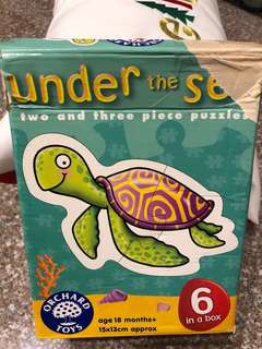 Orchard toys - under the sea floor puzzle