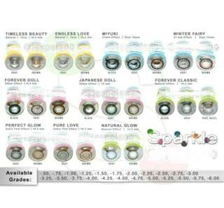 Graded Contact Lens