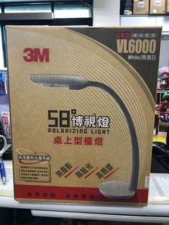 🚚 3M 桌上型檯燈 VL6000 白色