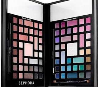 Sephora Collection Colour Wonderland Neutral & Vivid Eyeshadow Palette