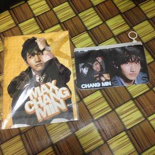 [UNOFFICIAL] MAX CHANGMIN NOTEBOOK AND POUCH