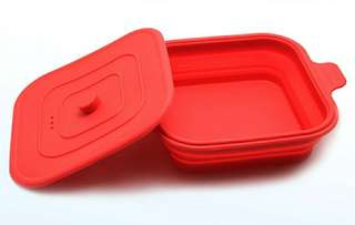Lunch box - Foldable / Collapsible / Portable