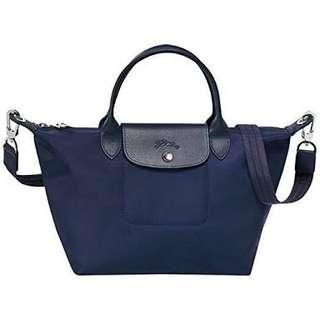 Longchamp Neo Medium Navy Blue