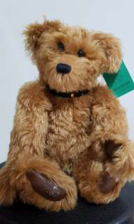 Special Edition Collector's Teddy Bear with Growler - Ginger