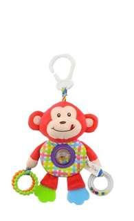 Happy monkey teether