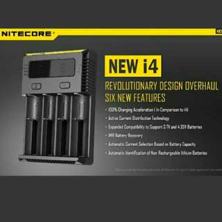 Nitecore New I4 Intelligence Charger