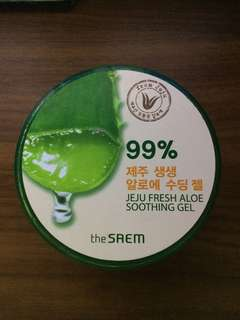 "Aloevera soothing gel ""Jeju fresh"""