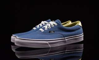 Vans era anniversary 50th blue gold