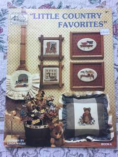 Little Country Favorites Cross Stitch Chart